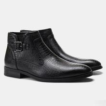 Winter Men Boots Non-Slip Warm Comfortable Shoe Men