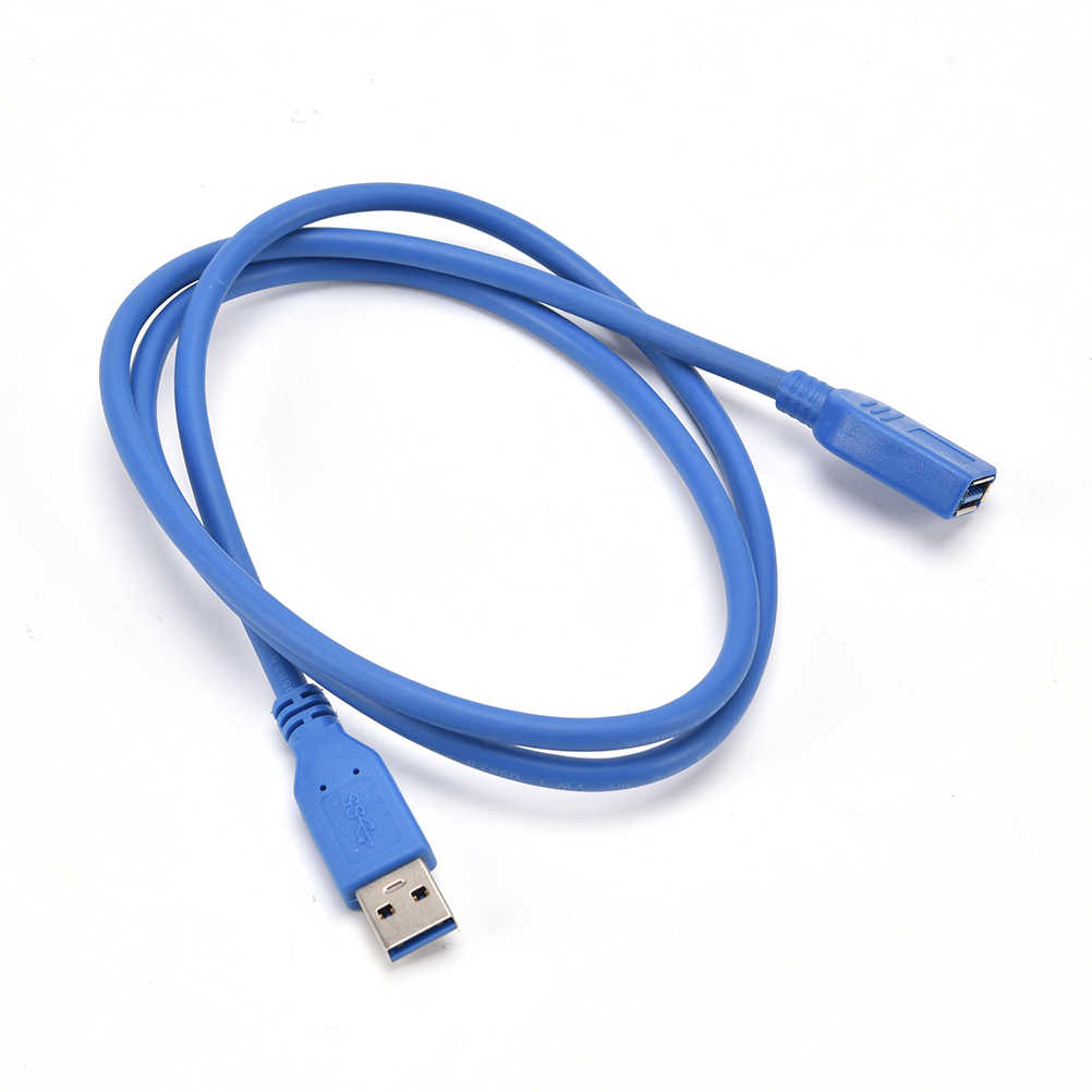 USB3.0 Daten Sync Schnelle Speed Kabel Stecker USB 3.0 Männlich zu Weiblich Verlängerung Kabel für Telefon Festplatte für Laptop PC drucker 1,5 m