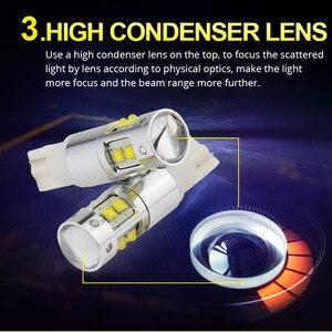 Image 4 - NAO W5W LED T10 5W5 3 واط 1000LM السوبر مشرق سيارة مصباح سيارة جانبي LED مصباح للسيارات 12 فولت 6000 كيلو جودة عالية 194 الأبيض العنبر 168 Blub