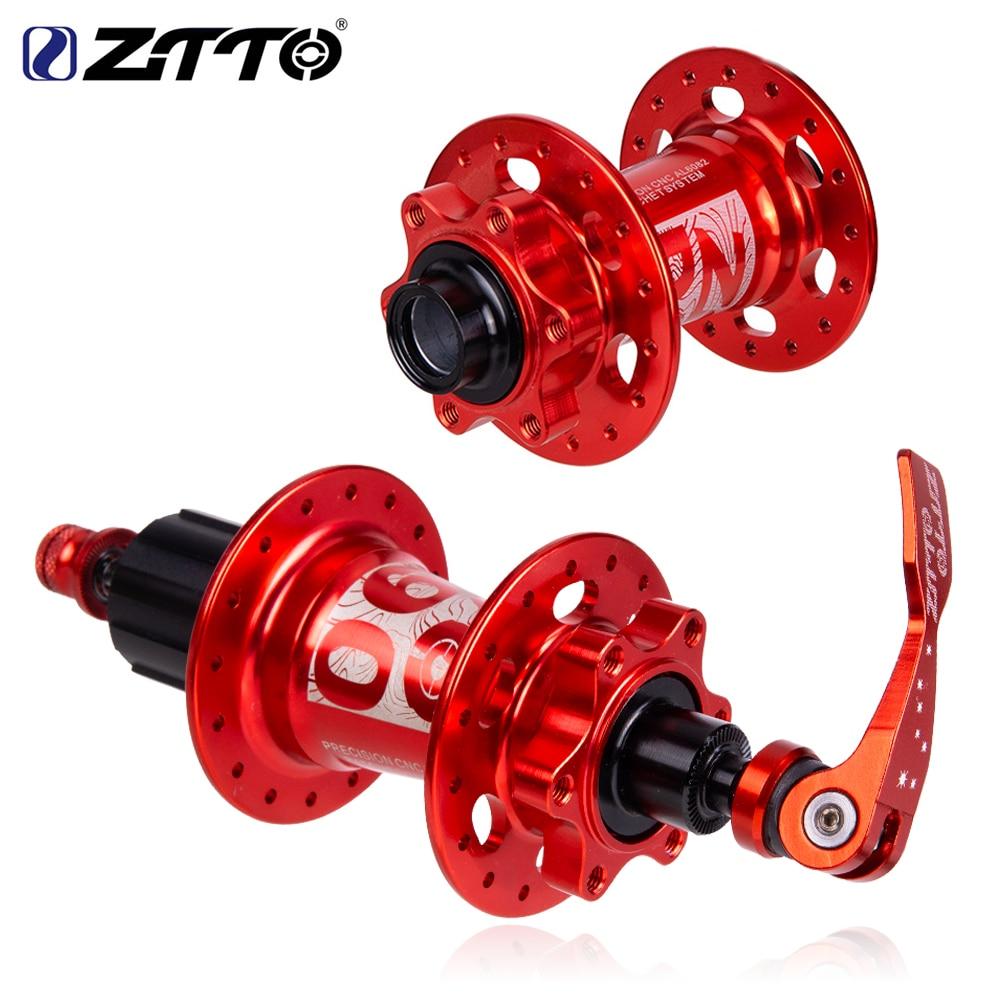 ZTTO MTB 32 отверстия дисковые тормоза велосипеда втулка QR через ось Quick Release HG XD 11 12 скорость совместим с храповым механизмом 54T для горного велосипеда|Велосипедные втулки|   | АлиЭкспресс