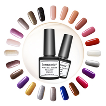 144 Colors Nail Gel Polish 8ML Hybrid Art Semi Permanent Varnishes Soak Off Top White Pink Green Black Lacquer
