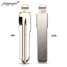 Jingyuqin 15 Uds #60 #156 Remotes Key Flip Blade SIP22 para Fiat 500 para Alfa Inner fresing Original GT15R remoto sin cortar en blanco