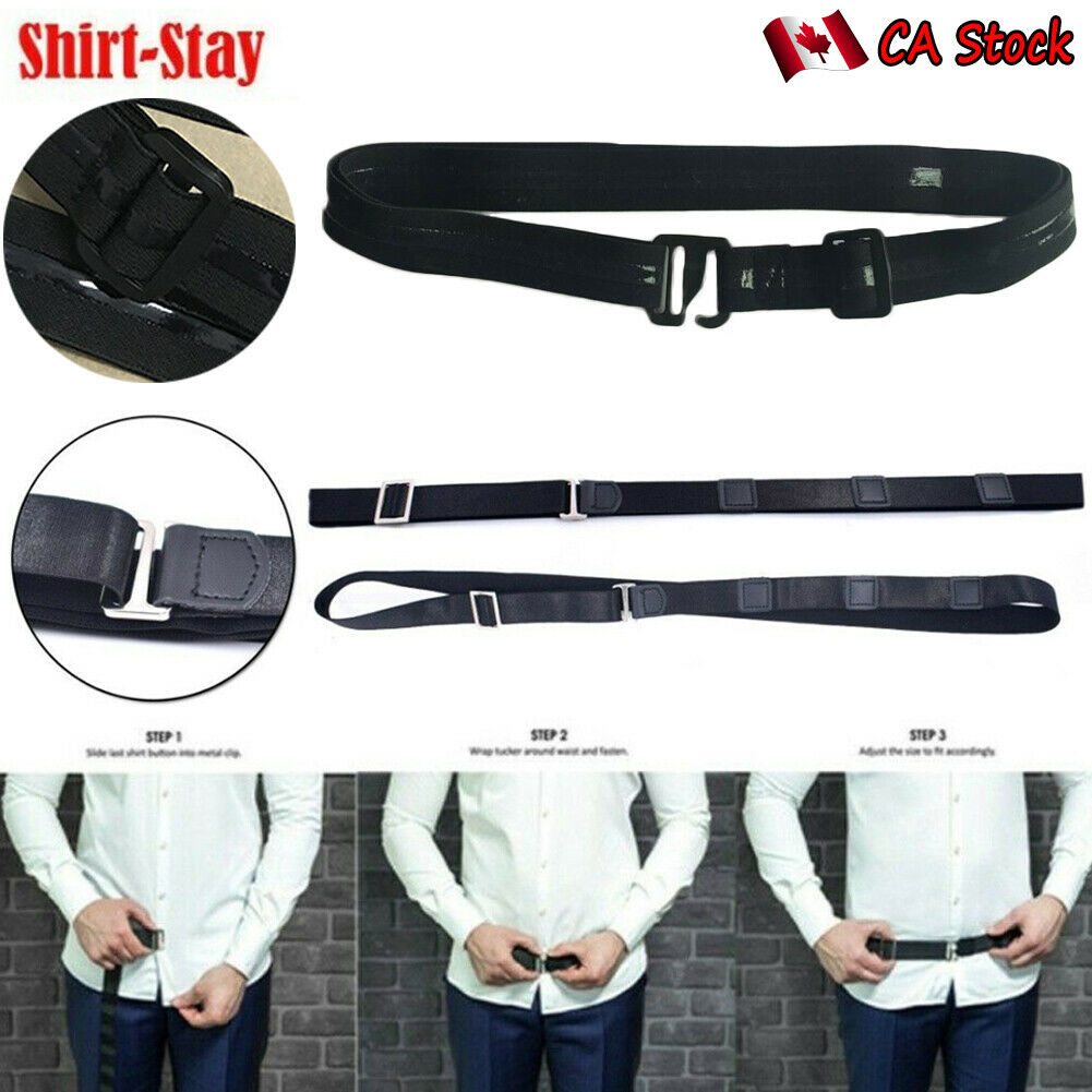 New 2020 Women Men Adjustable Shirt Holder Near Shirt Stay Best Tuck It Belt For Work Interview