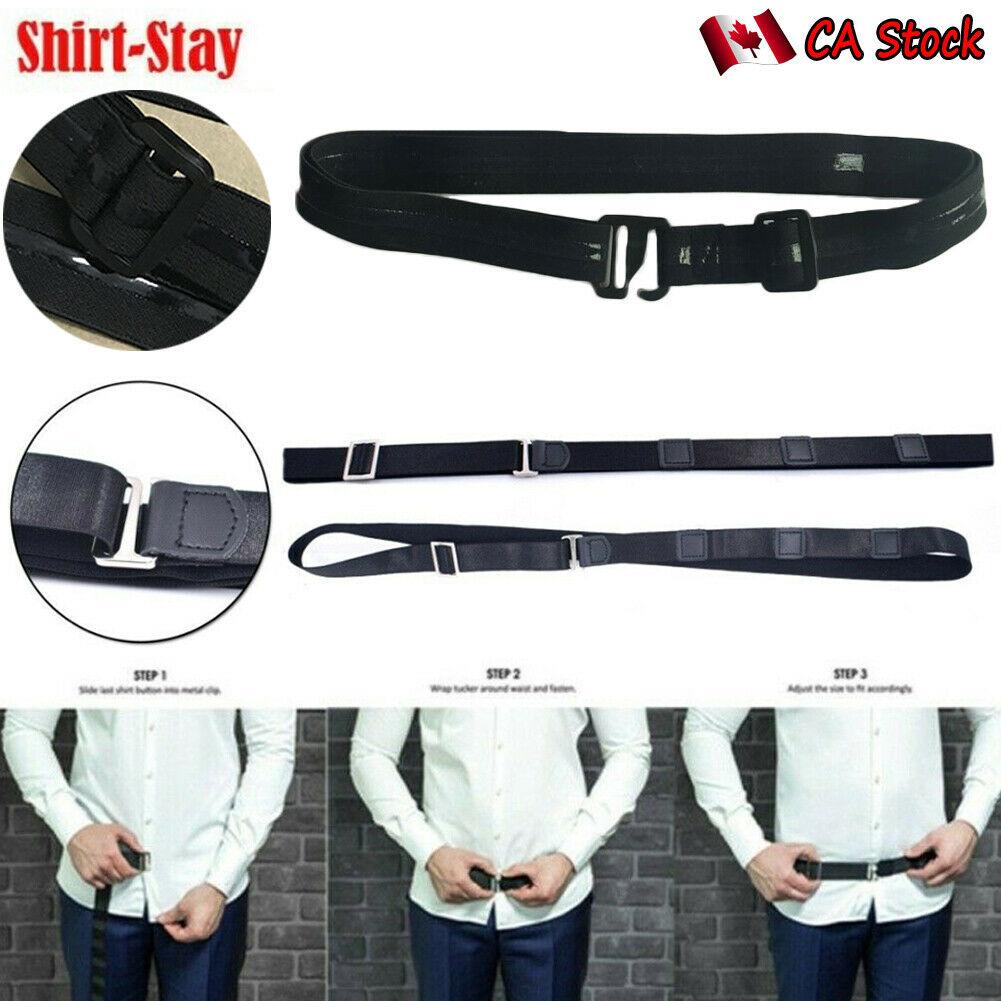 New 2020 Women Men Adjustable Shirt Holder Near Shirt Stay Best Tuck It Belt For Work Interview