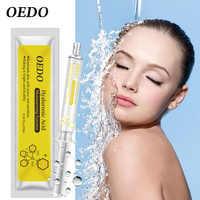 OEDO Encolher Poros Soro Ácido Hialurônico Hidratante Facial Essência Ingredientes Naturais Rosto Cuidados Com A Pele Nutritivo Beleza Eterna