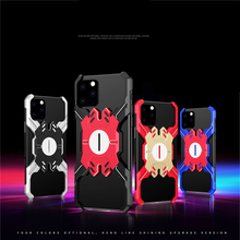 Aluminum Metal Bumper Case for iPhone 11 Pro Max XR X Xs Hero Elements Thin Shockproof Framless Case for iPhone 7 8 6 6s Plus