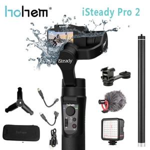 Image 1 - Hohem iSteady Pro 2 Handheld Gimbal Stabilizer for Gopro Hero Splash 3 Axis Estabilizador Celular for SJCAM YI Camera Stabilizer