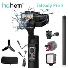 Hohem iSteady Pro 2 el Gimbal sabitleyici Gopro Hero sıçrama 3 Axis Estabilizador için Celular SJCAM YI kamera sabitleyici