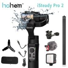 Stabilisateur de cardan portable Hohem iSteady Pro 2 pour Gopro Hero Splash 3 axes Estabilizador celulaire pour stabilisateur de caméra SJCAM YI