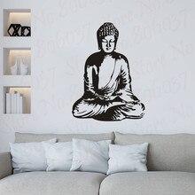 Buddha Buddhism Vinyl Wall Sticker Home Interior Art Religion Decal Decoration Wallpaper WL2036