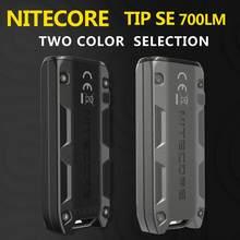 A ponta original do nitecore se 700 lúmens 2 x osram p8 conduziu com a luz metálica recarregável do chaveiro da bateria do li-íon
