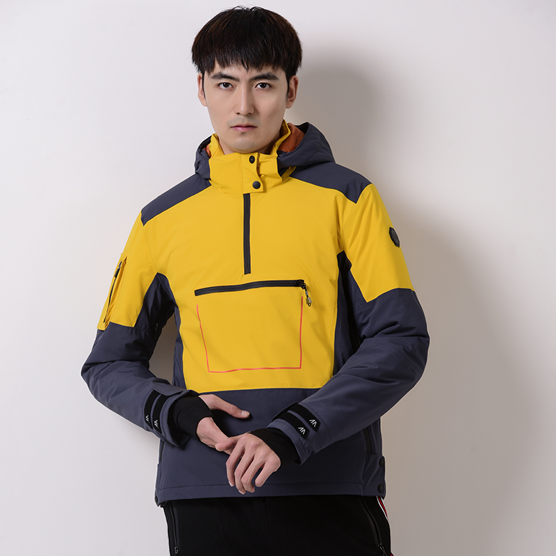 New Thickened Coat Hooded Pullover Jacket Men's Outdoor Jacket Baseball Ski Hiking Suit Sweater Warm and Comfortable Sweatshirt