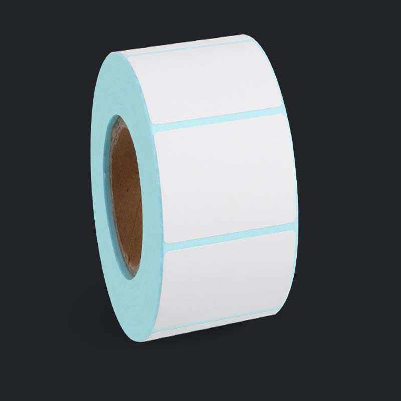 Thermische Label barcode Aufkleber, 40mm Core, 1 Rolle, Breite 20mm ~ 100mm, wasserdicht PrintTop Thermische Papier Klebstoff Aufkleber Zebra