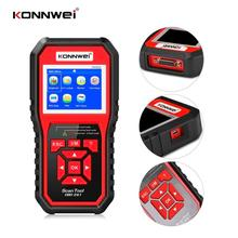 KONNWEI KW850 OBD2 Auto Diagnostic Scanner Universal OBD Car Diagnostic Tool ODB2 Check Engine Automotive Car Code Reader Black launch x431 cr3008 obd2 automotive scanner obdii code reader diagnostic tool check engine battery voltage free update pk kw850