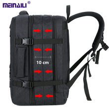30L duża przestrzeń Mens 17 cal plecaki na laptopa USB ładowania mężczyzna wodoodporna podróż Mochila wielowarstwowa o dużej pojemności plecak