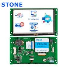 5.0 Polegada tela de toque inteligente de tft lcd com display resistive de alto brilho