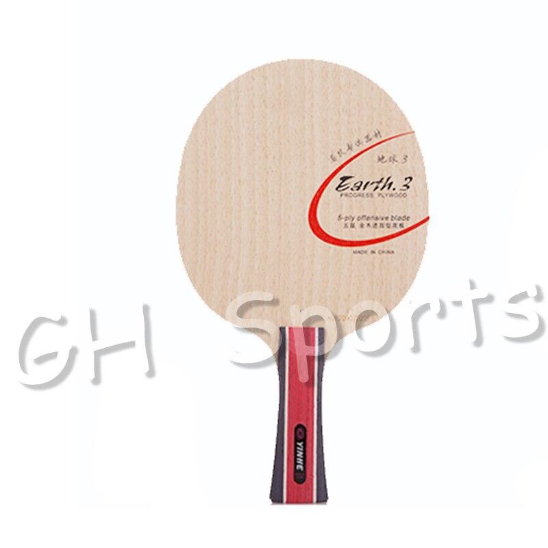 Galaxy Milky Way Yinhe E3 Earth.3 E-3 5 Progress Playwood OFF Table Tennis Blade For PingPong Racket