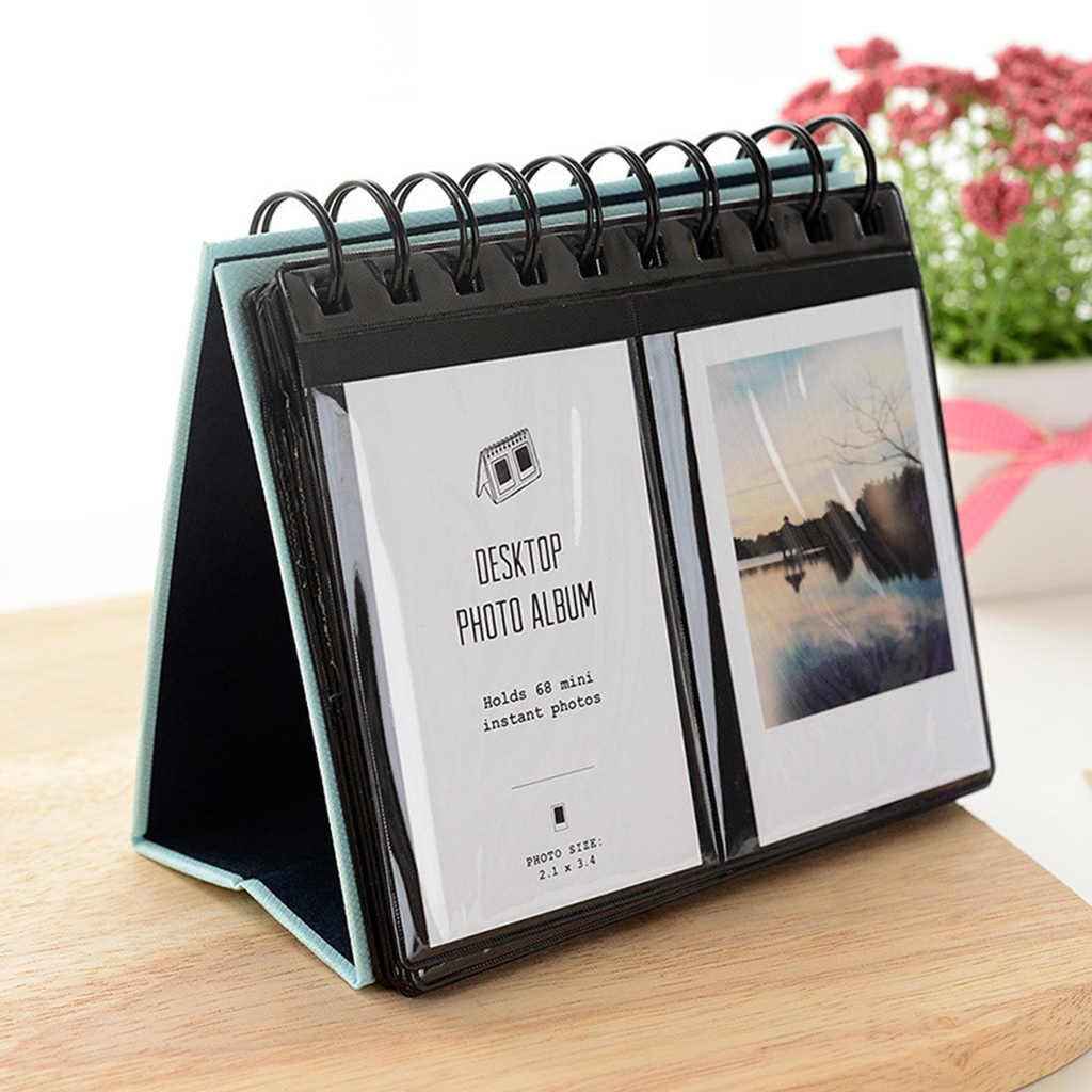 Álbum de fotos instax de mesa, para fujifilm fuji instant mini 8 9 70 50s, foto instantânea capa do álbum da imagem