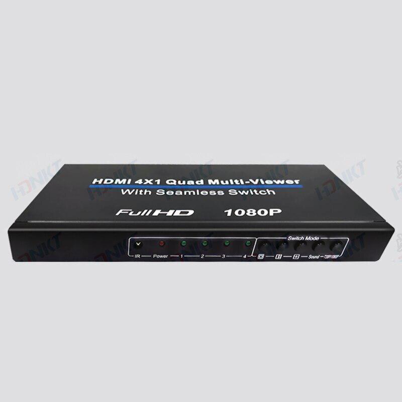Switcher 1080P a 4 porte Switch HDMI Splitter schermo Splitter commutazione segnale di ingresso a 4 canali Display Splitter per PC HDTV Xbox