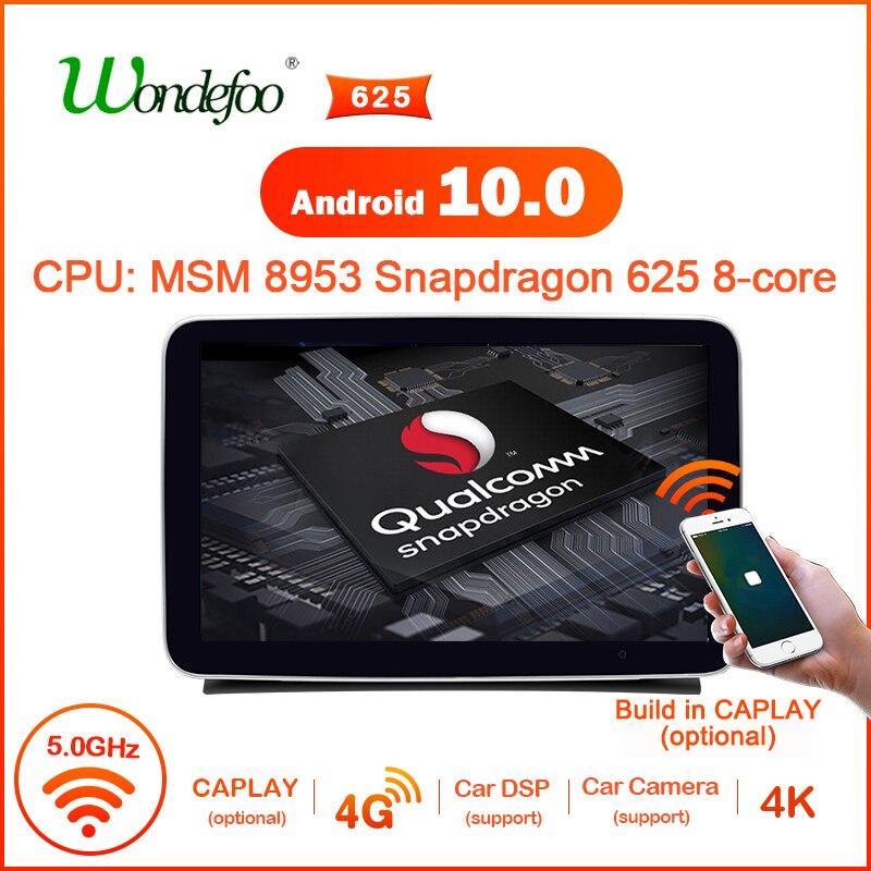 Автомагнитола snapdragon Android 10 для Mercedes benz ML-Class W166 GL X166, автомобильная стереосистема, аудио-навигация, мультимедийный плеер