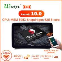 Snapdragon android 10 rádio do carro para mercedes benz ml ml-classe w166 gl x166 jogador de multimídia de navegação de áudio estéreo do carro