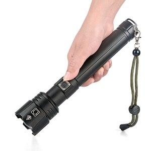 Image 5 - 2020 Mới XHP90.2 XHP70.2 Đèn Pin Led Chiến Thuật Đèn Pin Chống Nước Zoom Săn Bắn Đèn Cắm Trại Sạc 26650 Mạnh Mẽ Đèn Pin