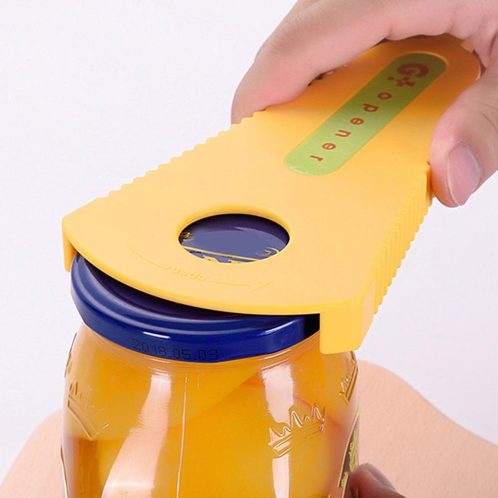 Household Multi-Function Can Opener Manual Can Opener Pull Ring Screwdriver Portable Practical Can Opener