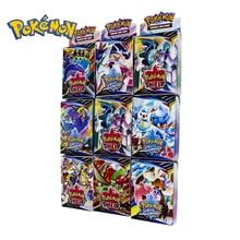 25PCS Pokemon GO Cards GX TRAINERS TGA TEAM BREAK 3D Flash Card SWORD&SHIELD SUN&MOON Collectible Gift Children Toy