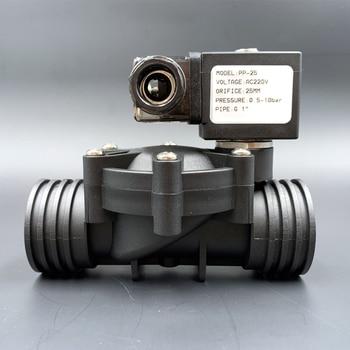 valve,Solenoid Valve,water valve,1/2 3/4 1 2/2-way Pilot type Plastic Normally closed ,10bar AC220V DC12V 24V NBR/EPDM/VITON 5 way pilot solenoid valve sy3220 3d 03