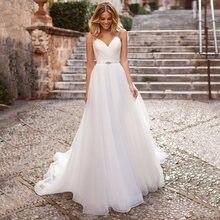 Женское свадебное платье со шлейфом сдержанное ТРАПЕЦИЕВИДНОЕ