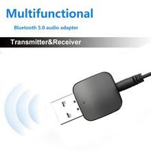 2 In 1 Wireless Bluetooth 5.0 Audio Receiver Transmitter Mini USB 3.5 Mm Adapter For TV Computer Car AUX Latest Model