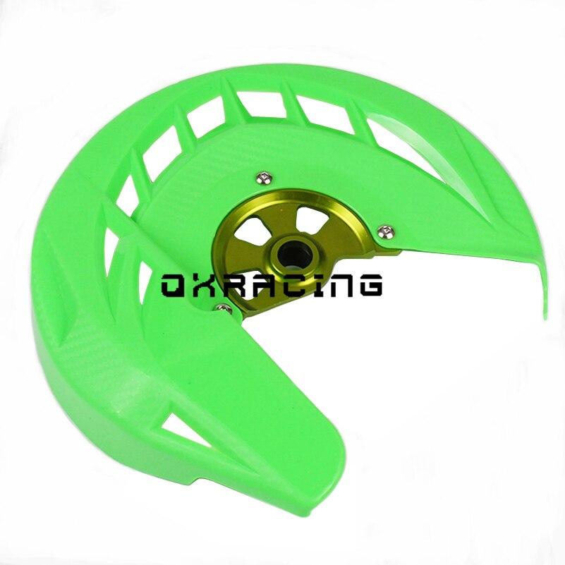 Front Brake Disc Rotor Cover Cap Protector For Kawasaki KX250F KX450F 2006-2018