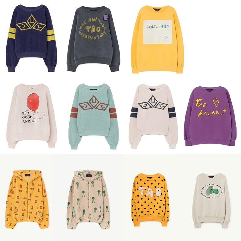 Hot Sale Kids T-shirt 2021 Boys Clothes Girls Sweatshirt Autumn Winter Tao The Animals Cotton Soft Printed Baby Girl Tops Shirt 1
