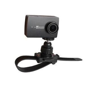Image 3 - Draaibare Fiets Quick Release Zip Tie Strap Mount Houder Clip Voor Gopro Hero 8/7/6/5/4/3/3 +/2 Xiaomi Yi Sport Camera