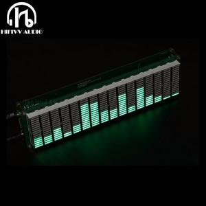 Image 1 - רמת LED מוסיקה אודיו ספקטרום מחוון 16 רמת VU מטר מסך תצוגת מגבר לוח דיוק שעון מתכוונן AGC מצב