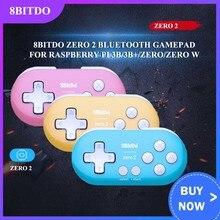 8bitdo zero 2 bluetooth sem fio gamepad controlador de jogo para nintendo switch raspberry pi vapor ganhar macos gamepad joystick