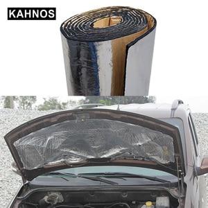 Image 1 - Car Truck Engine Acoust Heat Hood Pad Mat Insulation Roof Car Soundproofing Aluminum Noise Foil Deadening Sound Insulation Car