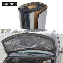 aislante termico coche camión motor Acoust almohadilla de capucha de calor estera aislamiento del coche insonorizante aluminio papel de ruido atenuación de aislamiento acústico para coche