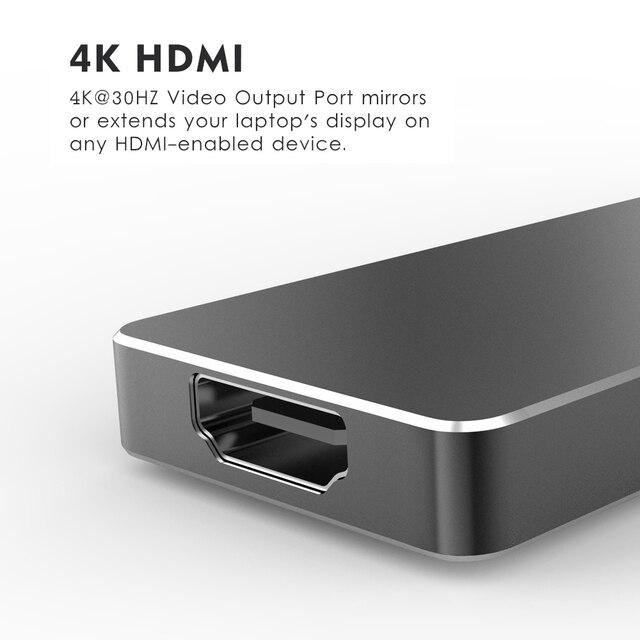 Фото wavlink usb хаб c концентратор для нескольких 30 hdmi адаптер