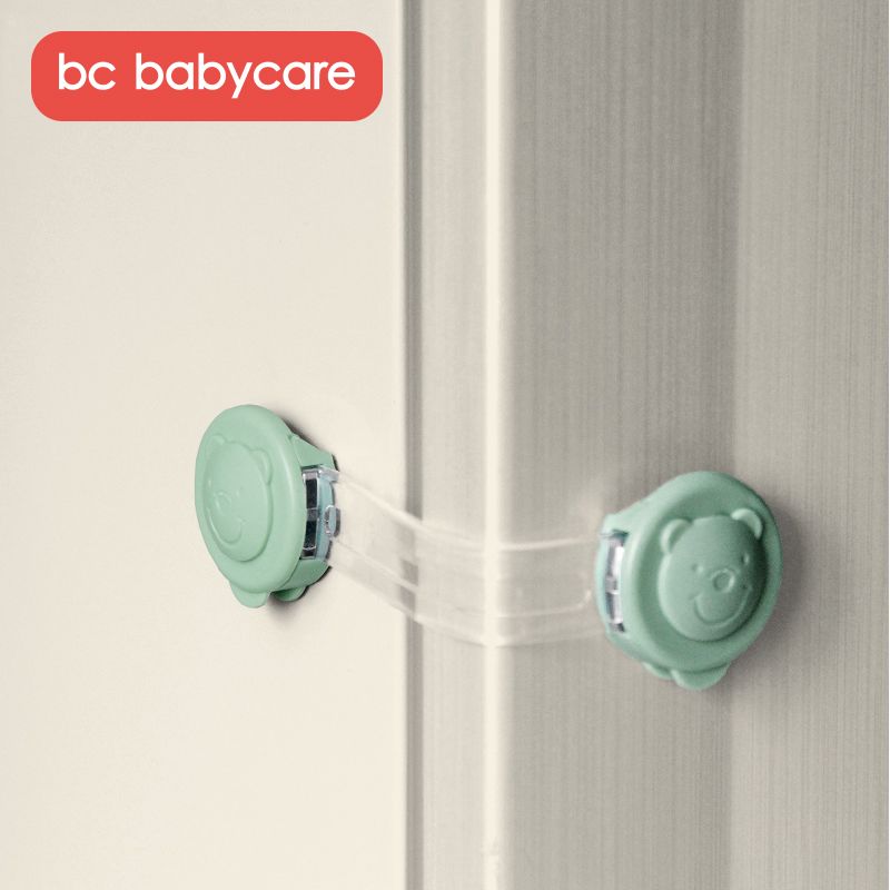 BC Babycare Set Of 2 Home Multifunctional Cabinet Safety Locks Durable Baby Proofing Drawer Locks Child Proof Safety Locks