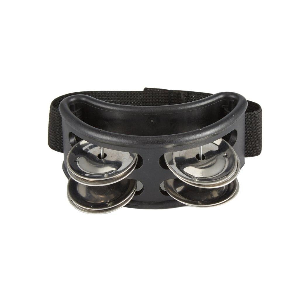 Aluminum Alloy ABS Jingle Percussion Cajon Drum Tambourine Instruments Accessories Companion Hand Foot