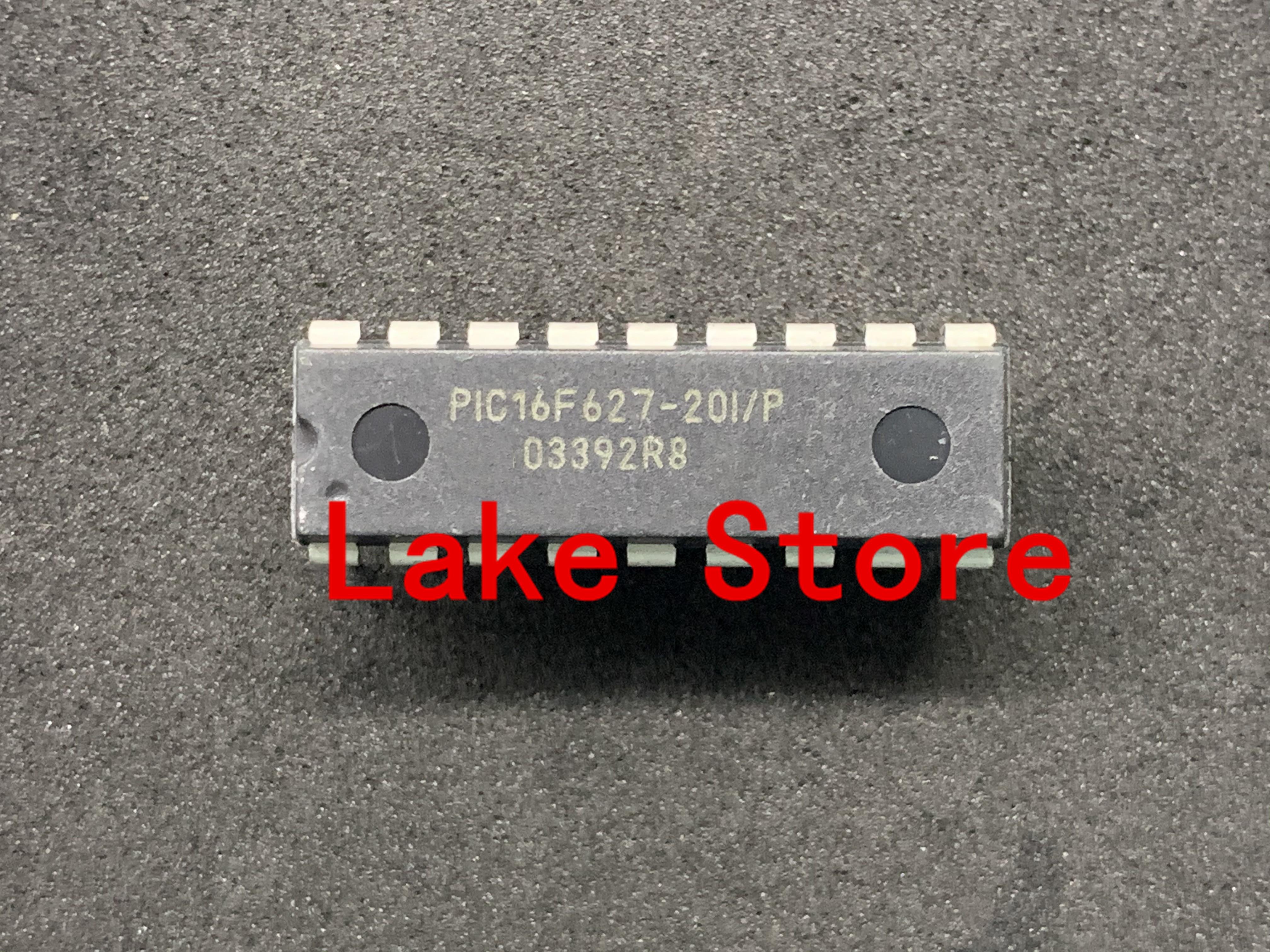 5 unids/lote PIC16F627-04/P PIC16F627 DIP PIC16F627-20I/P
