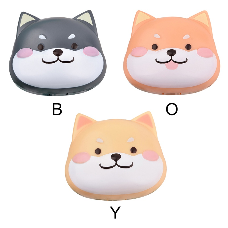Cute Contact Lens Case Portable Contact Lens Kit Travel Contact Lens Container With Mirror Contact Lens Double Box линзы