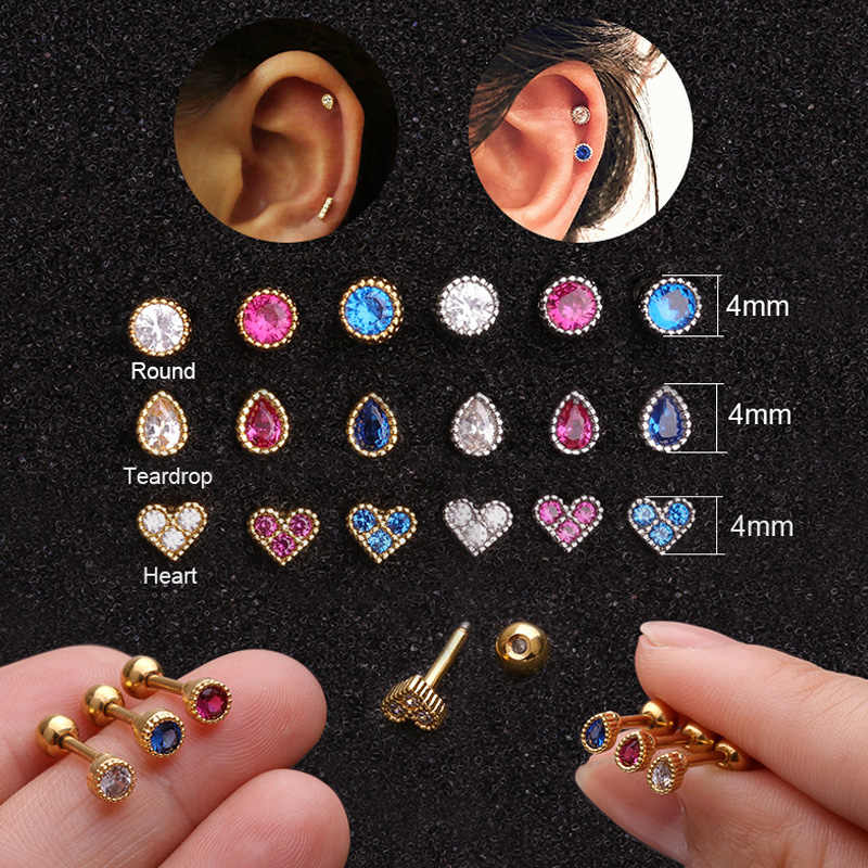 Hearts and Teardrops Stud Pack
