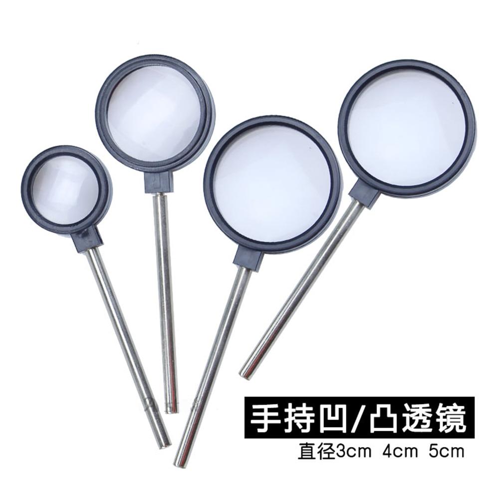 4pcs/lot Hand-held Convex Lens Concave Lens Lens Imaging Laboratory Equipment Focal Length Measurement Optical Bench Accessories