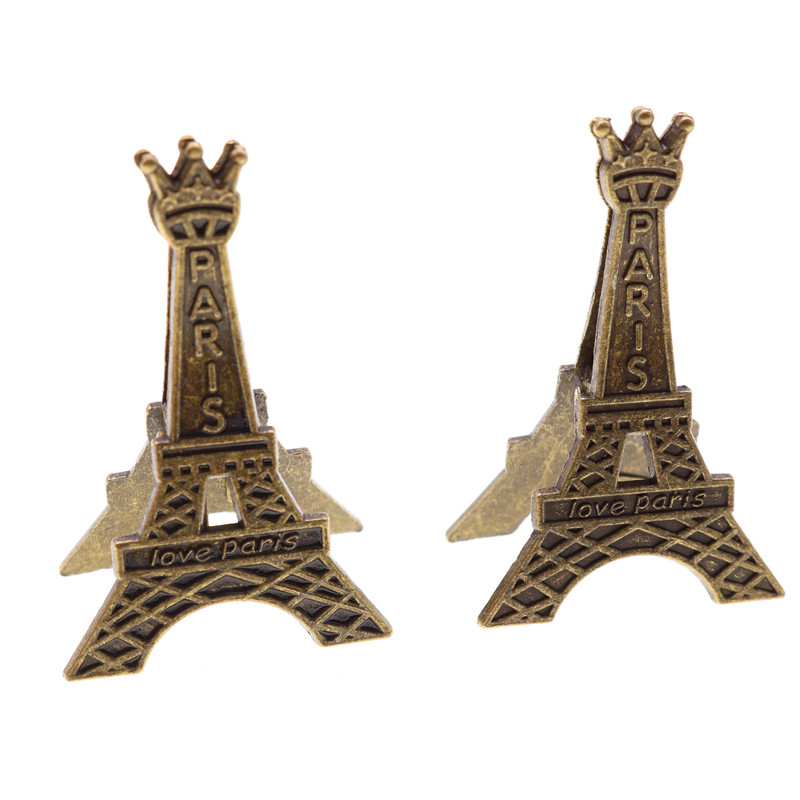Creative Eiffel Tower Paris Metal Memo Paper Clip For Photo Paper Decoration School Office Supplies Gift Stationery Decoration