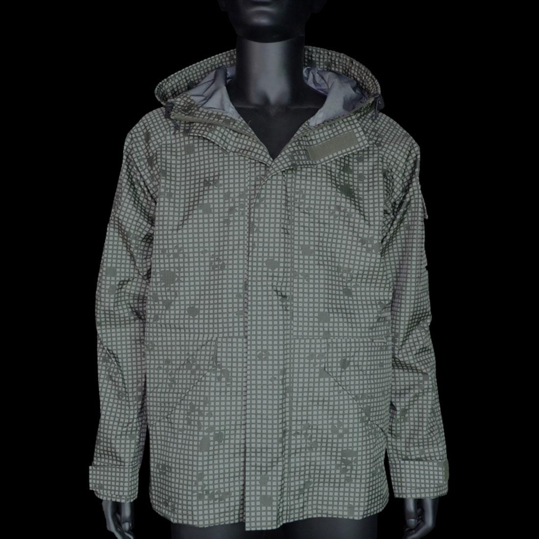 BlackGunpowder Tactical Lightweight Hard Shell Outdoor Jacket - (Desert Night Camo) M/L/XL