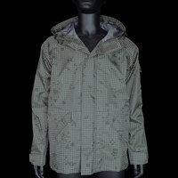 BlackGunpowder Tactical Lightweight Hard Shell Outdoor Jacket - (Desert Night Camo) M/L/XL