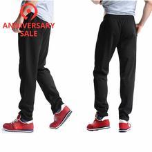 FALIZA 2020 New Mens Sweatpants Male Joggers Mens Pants Elastic Waist