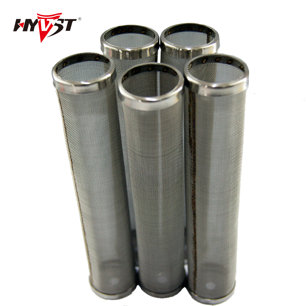 Aftermarket HP-strainers Manifold Pump Filter 1-layer With Wings, 30/60/100/150/200mesh  - STAINLESS STEEL Lenghth  144mm (5pcs)